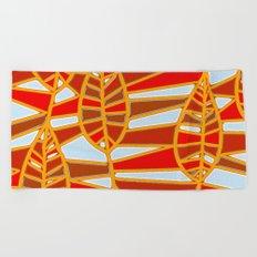 Autumn III Beach Towel