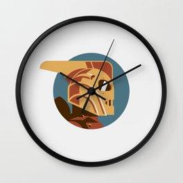 Headgear: Rocketeer Wall Clock