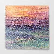 Looking through Lace  Metal Print