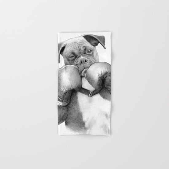 The Boxer Hand & Bath Towel