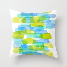 Watercolor 001 Throw Pillow