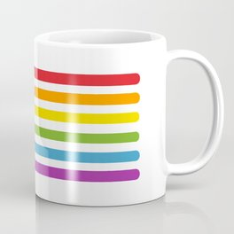 Lightsaber rainbow Coffee Mug