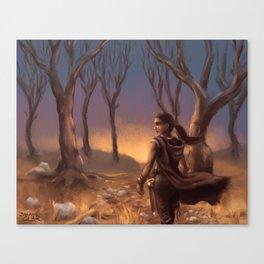 Forest Wanderer Canvas Print