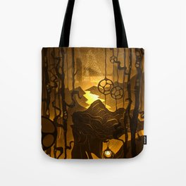 the fireflies place Tote Bag