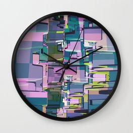 Abstract Composition 641 Wall Clock
