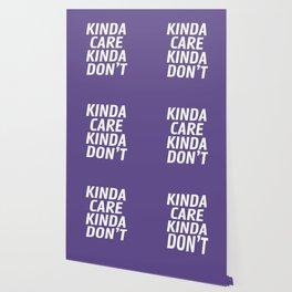 Kinda Care Kinda Don't (Ultra Violet) Wallpaper