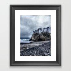 Lonely Beach II Framed Art Print