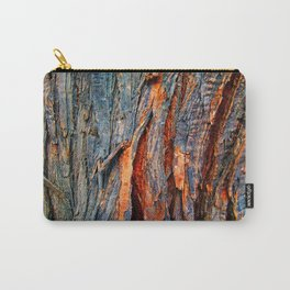 Bark Texture 22 Carry-All Pouch