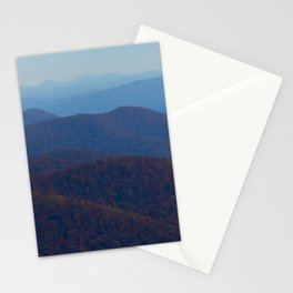 The Blue Ridge Parkway Mountains NC #2, Fine Art Landscape Photography Stationery Cards