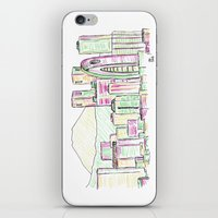tokyo iPhone & iPod Skins featuring Tokyo by Ursula Rodgers