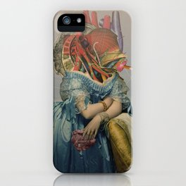 Another Portrait Disaster · the queen of flesh iPhone Case