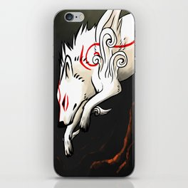 Amaterasu iPhone Skin