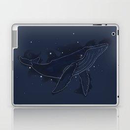 Spacial Whale Laptop & iPad Skin