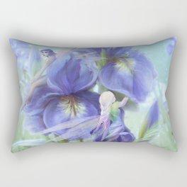 Imagine - Fantasy iris fairies Rectangular Pillow
