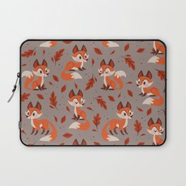 Cute Foxes Laptop Sleeve