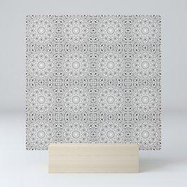 Gray ornament Mini Art Print