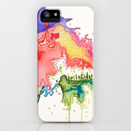 In the Heart of the Mountain iPhone Case