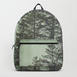 Trees in Fog Backpack