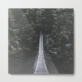 Lynn Canyon Suspension Bridge Metal Print