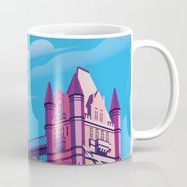 London travel poster Coffee Mug