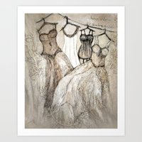 theater Art Prints featuring theater by woman
