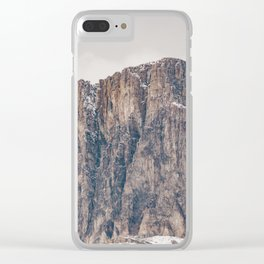 Rocky Mountain Clear iPhone Case