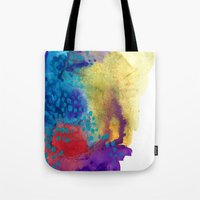 shield Tote Bags featuring Shield by Jessalin Beutler