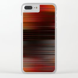 """Abstract Autumn Porstroke (Pattern)"" Clear iPhone Case"
