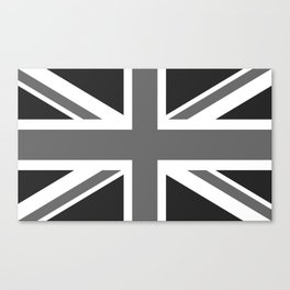 Union Jack Authentic scale 3:5 Version  (High Quality) Canvas Print