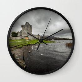 Ross Castle, Killarney, Ireland Wall Clock