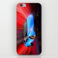 lamborghini iPhone & iPod Skins featuring Lamborghini Huracán by JT Digital Art