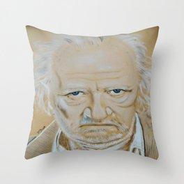 Niels Arestrup Throw Pillow