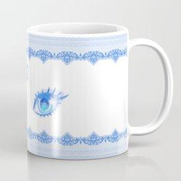 Sailor Mercury Eyes Coffee Mug