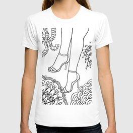 foot fetish T-shirt
