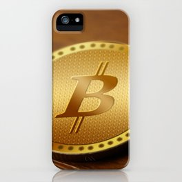 Bitcoin 1 iPhone Case