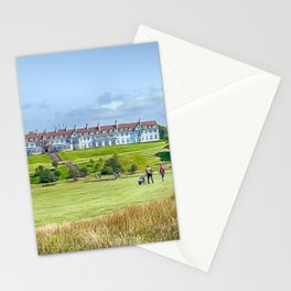 Across the Green Stationery Cards
