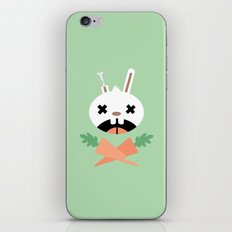 Bunny Death iPhone & iPod Skin