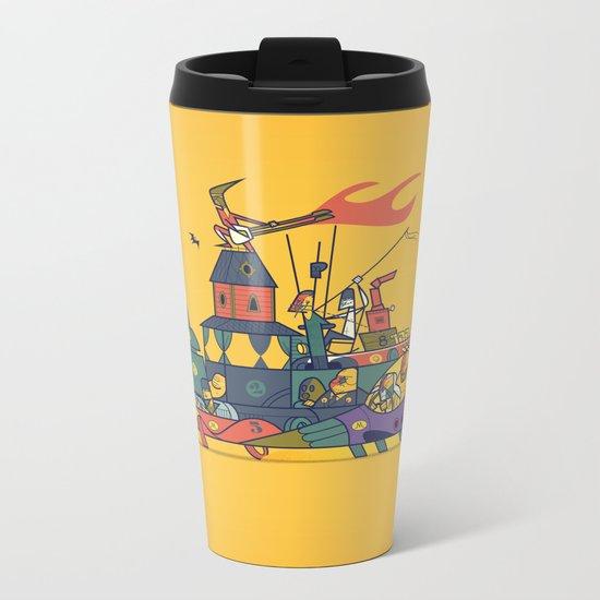 Wacky Max Metal Travel Mug