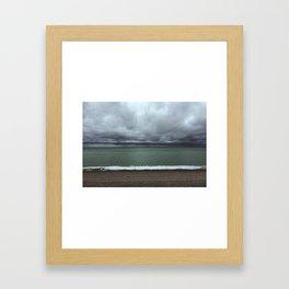 weather colors Framed Art Print