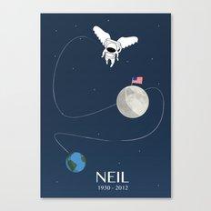 Goodbye Neil Canvas Print