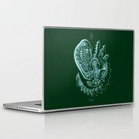 xenomorph Laptop & iPad Skins featuring Xenomorph by Jordan Lewerissa