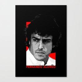 Formula One - Fernando Alonso Canvas Print