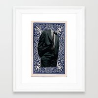 games Framed Art Prints featuring Games by Cameron Chapleau