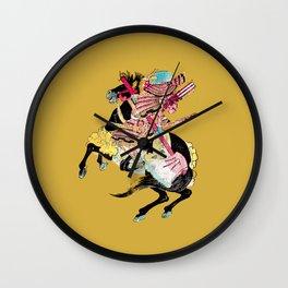 Samouraï Wall Clock