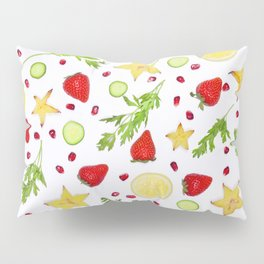 Fruits and vegetables pattern (6) Pillow Sham