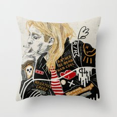 Kurt. Throw Pillow