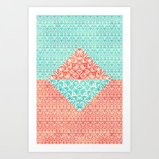Retro Optical Fantasia Art Print