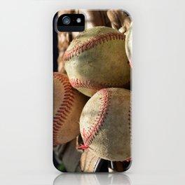 Baseballs and Glove iPhone Case
