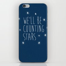We'll be counting stars  iPhone Skin