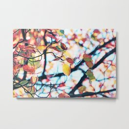 Happy Autumn Colors Metal Print